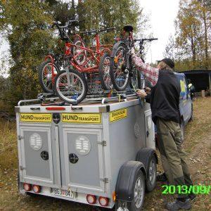 ...och en cykel